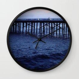 Dark Malibu Wall Clock