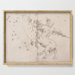 Johann Bayer - Uranometria / Measuring the Heavens (1661) - 39 Centaurus Serving Tray