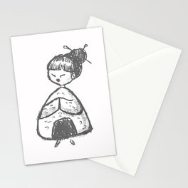Onigiri Princess Stationery Cards