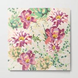 Lovely Flowers II Metal Print