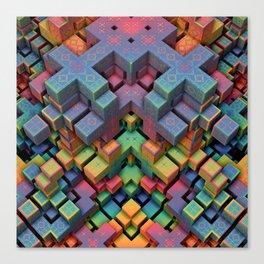 Mindcraft Canvas Print