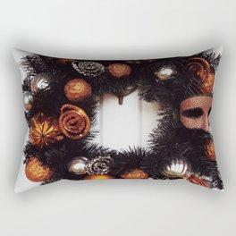 Halloween Wreath Rectangular Pillow