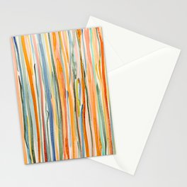 Loose Watercolor Lines 2 Stationery Cards
