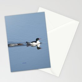 Mergansers on the Kenai Stationery Cards