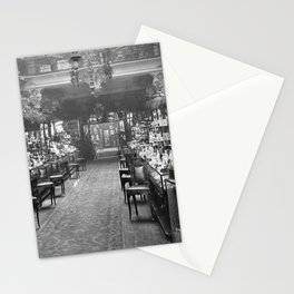 1919 Harrods Department Store, London, England Perfume Counter Vintage black and white photograph / art photography Stationery Cards