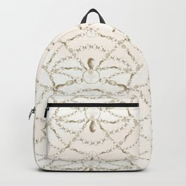 Beaded Pearls Backpack