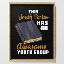 This Youth Pastor Has An Awesome Youth Group Serving Tray