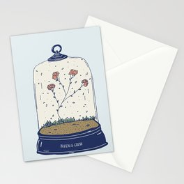 Bloom & Grow - Inspirational Terrarium Stationery Cards