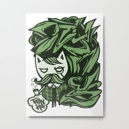 Tally-Ho! Metal Print