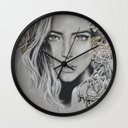 Series: Roses Wall Clock