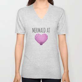 Mermaid At Heart Unisex V-Neck