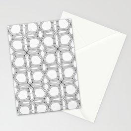 Poplar wood fibre walls electron microscopy pattern Stationery Cards