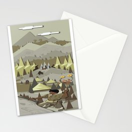 A Bronze Age Landscape Stationery Cards