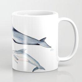 Striped dolphin Coffee Mug