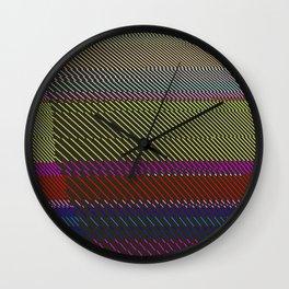 Spacial Awareness Wall Clock