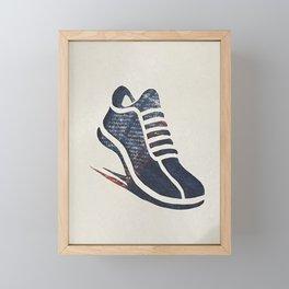 Be your best version! Framed Mini Art Print