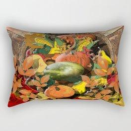 Horns of Plenty Rectangular Pillow