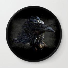 Raven Lord Wall Clock