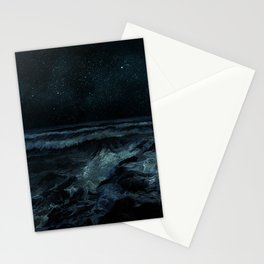 The Sea and the Night Stationery Cards