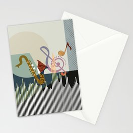 Rhythm I Stationery Cards