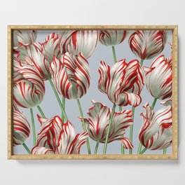 Semper Augustus Tulips Serving Tray