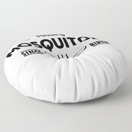 Feeding Mosquitoes since birth Floor Pillow