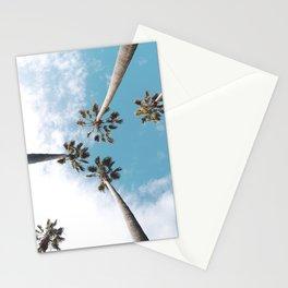 Palms Blue Sky Stationery Cards