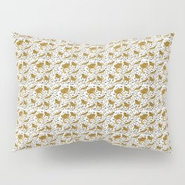 Bearded Dragon pattern Pillow Sham