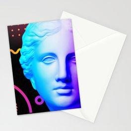 Ancient neon gods #3: Venus de Milo Stationery Cards