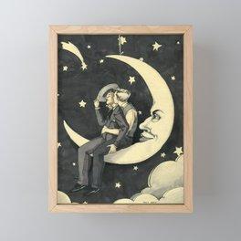 Paper Moon  Framed Mini Art Print