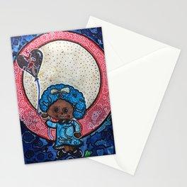 Black ad Blu Stationery Cards