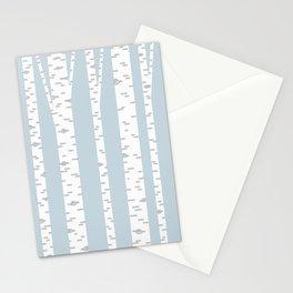 Minimalist Birch Trees by Amanda Laurel Atkins Stationery Cards