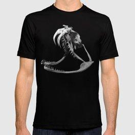 Gaboon Viper Skull Ca2 T-shirt