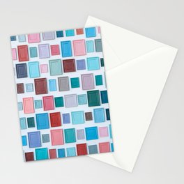 Color on the wall Stationery Cards