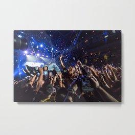 Crowd Surf - B.o.B. Metal Print