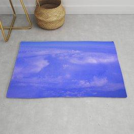 Aerial Blue Hues IV Rug
