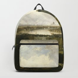 william turner London from Greenwich Park 1809 Backpack