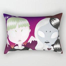 love in the graveyard Rectangular Pillow