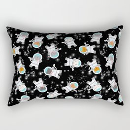 Astronaut Space Cats With Constellations Rectangular Pillow