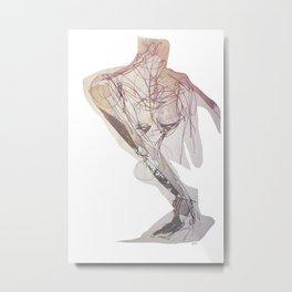 observant Metal Print