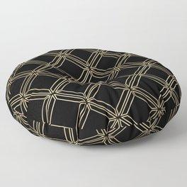 winter pattern Floor Pillow