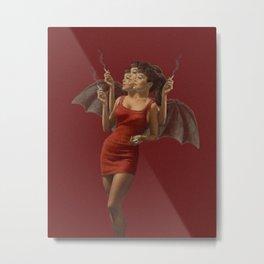 Cigarette Break  Metal Print