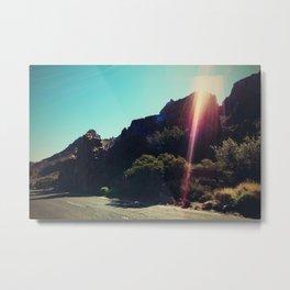 lavaland rainbow - three Metal Print