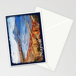 Napoli. Vesuvio and the bay Stationery Cards