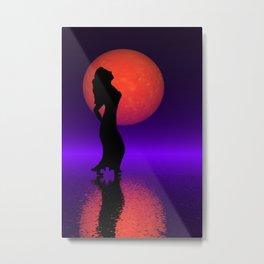 dance and full moon -101- Metal Print