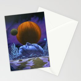 Time is the simplest thing Stationery Cards