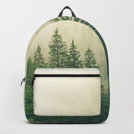 Forest Fog Nature Backpack