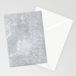 Abstract silver paper Stationery Cards
