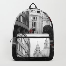 London Town city,St Paul Cathedral decor. Backpack