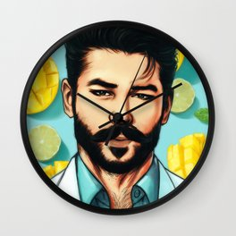 マンゴーモヒート (Mango Mojito) Wall Clock